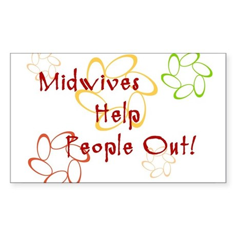 Midwives Rectangle Sticker