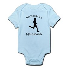Daddy Marathoner Infant Bodysuit
