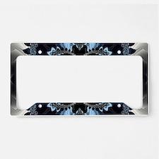 Fragment Pattern License Plate Holder