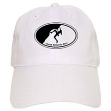Just Climb On Classic Oval Baseball Cap