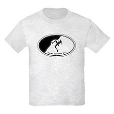 Just Climb On Classic Oval T-Shirt