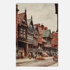 Vintage view of Chester,  Postcards (Package of 8)