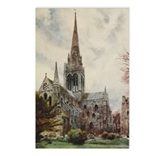 View of Cathedral at Chic Postcards (Package of 8)