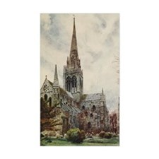 View of Cathedral at Chicheste Decal