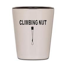 Climbing Nut Shot Glass