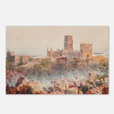 View of the Durham, Engla Postcards (Package of 8)