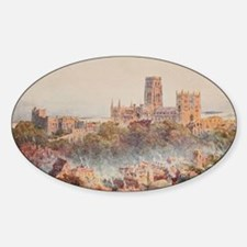 View of the Durham, England in Wate Decal