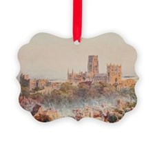 View of the Durham, England in Wa Ornament