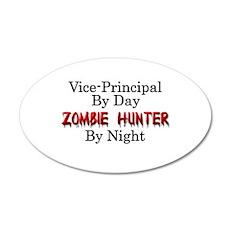 Vice-Principal/Zombie Hunter Wall Decal