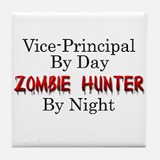 Vice-Principal/Zombie Hunter Tile Coaster