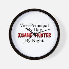 Vice-Principal/Zombie Hunter Wall Clock