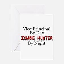 Vice-Principal/Zombie Hunter Greeting Card