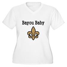 Bayou Baby Plus Size T-Shirt
