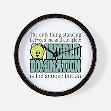 World Domination Wall Clock
