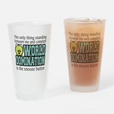 World Domination Drinking Glass