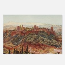 The Alhambra at Granada,  Postcards (Package of 8)