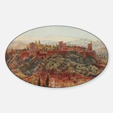 The Alhambra at Granada, Spain Decal