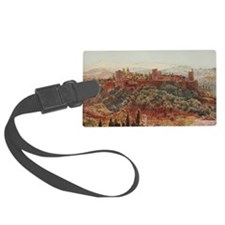 The Alhambra at Granada, Spain Luggage Tag