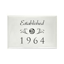 Established 1964 Rectangle Magnet