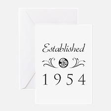 Established 1954 Greeting Card