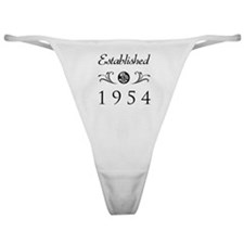 Established 1954 Classic Thong