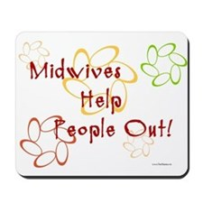Midwives Mousepad