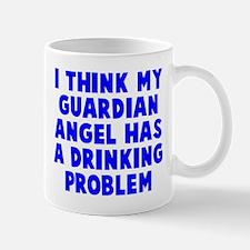 Guardian Angel Drinking Problem Mug