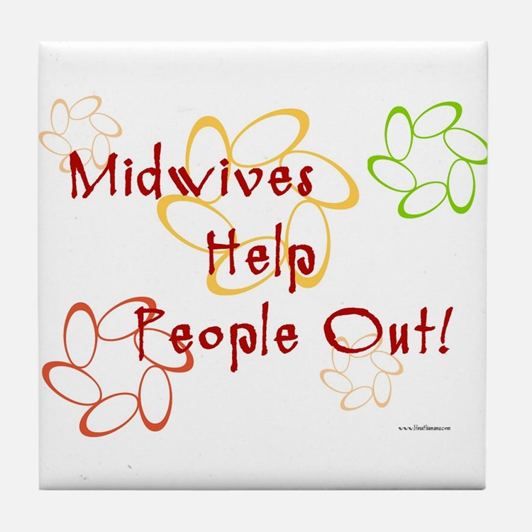 Midwives Tile Coaster