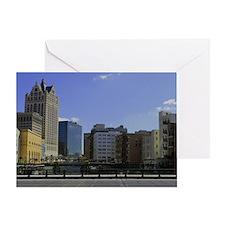 Downtown Milwaukee Greeting Card