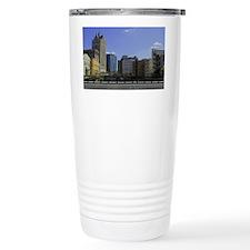 Downtown Milwaukee Travel Mug