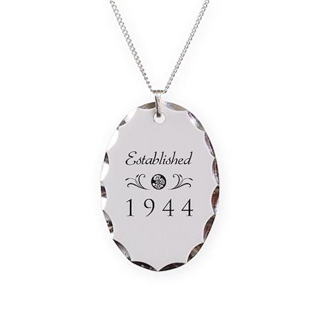 Established 1944 Necklace Oval Charm