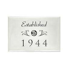 Established 1944 Rectangle Magnet