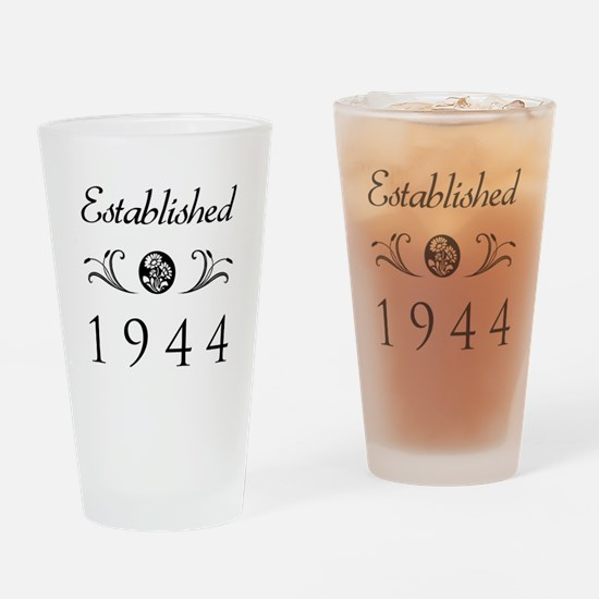 Established 1944 Drinking Glass