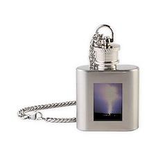 Lightning Bolt Flask Necklace