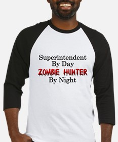 Superintendent/Zombie Hunter Baseball Jersey