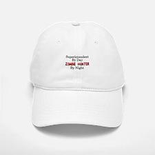 Superintendent/Zombie Hunter Baseball Baseball Cap