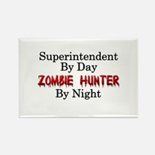 Superintendent/Zombie H Rectangle Magnet (10 pack)
