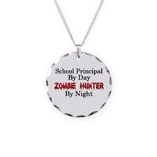 School Principal/Zombie Hunt Necklace