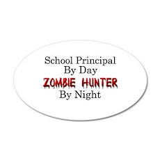 School Principal/Zombie Hunt Wall Decal