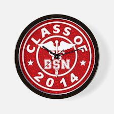 Class Of 2014 BSN Wall Clock