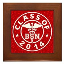 Class Of 2014 BSN Framed Tile