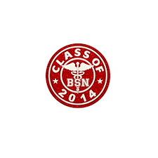 Class Of 2014 BSN Mini Button (10 pack)