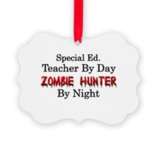 Special Ed. Teacher/Zombie Ornament
