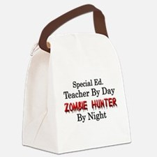 Special Ed. Teacher/Zombie Canvas Lunch Bag