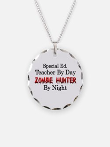 Special Ed. Teacher/Zombie Necklace