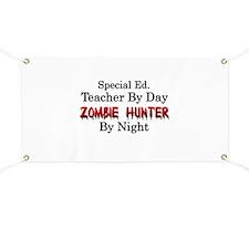 Special Ed. Teacher/Zombie Banner