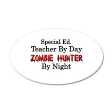 Special Ed. Teacher/Zombie Wall Decal