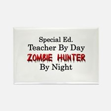 Special Ed. Teacher/Zombie Rectangle Magnet
