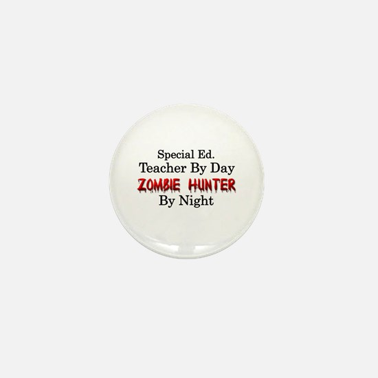 Special Ed. Teacher/Zombie Mini Button