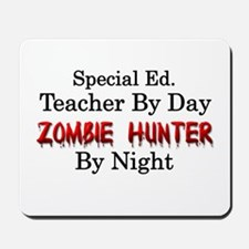 Special Ed. Teacher/Zombie Mousepad